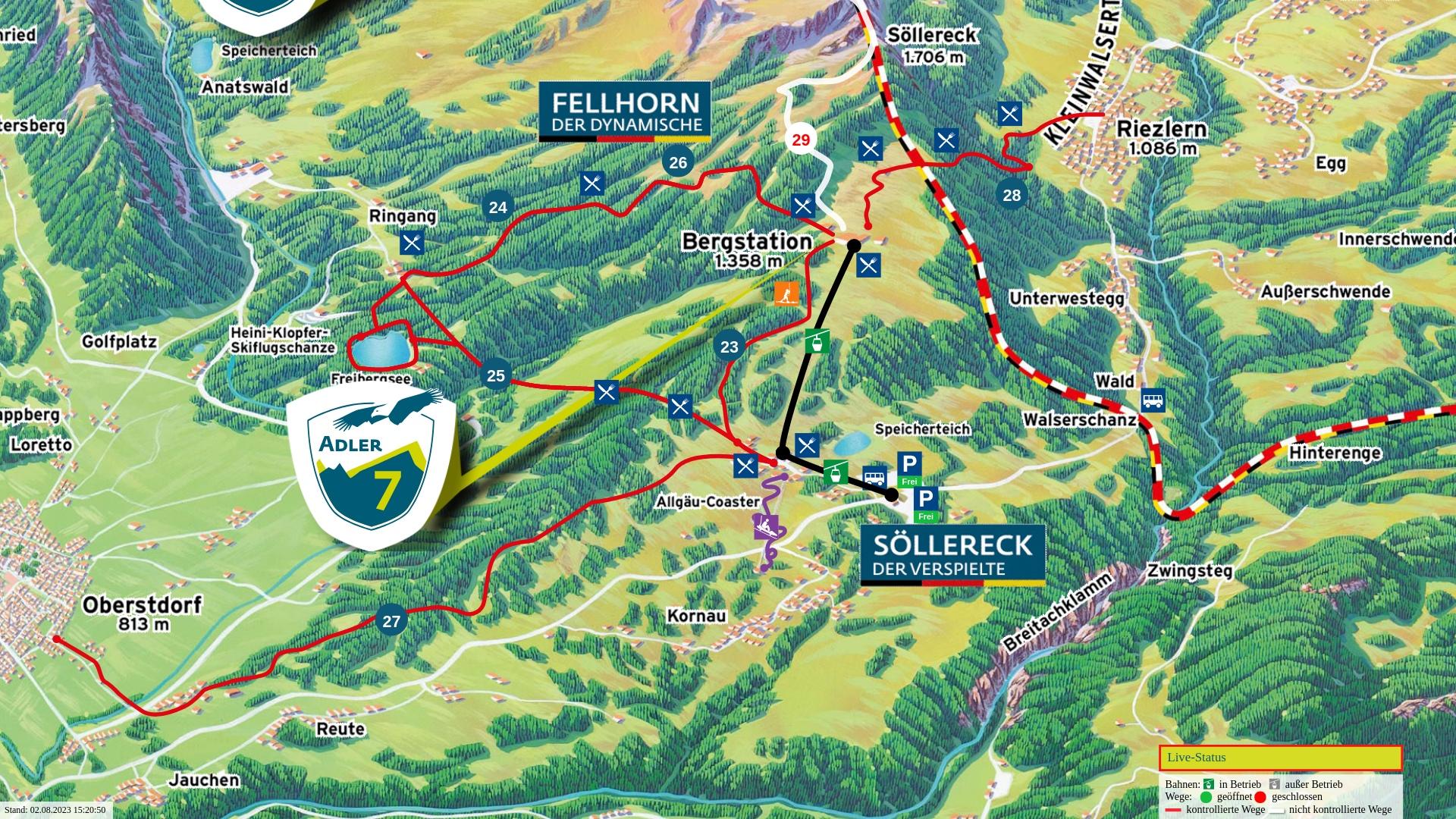 Wanderpanorama: Söllereck