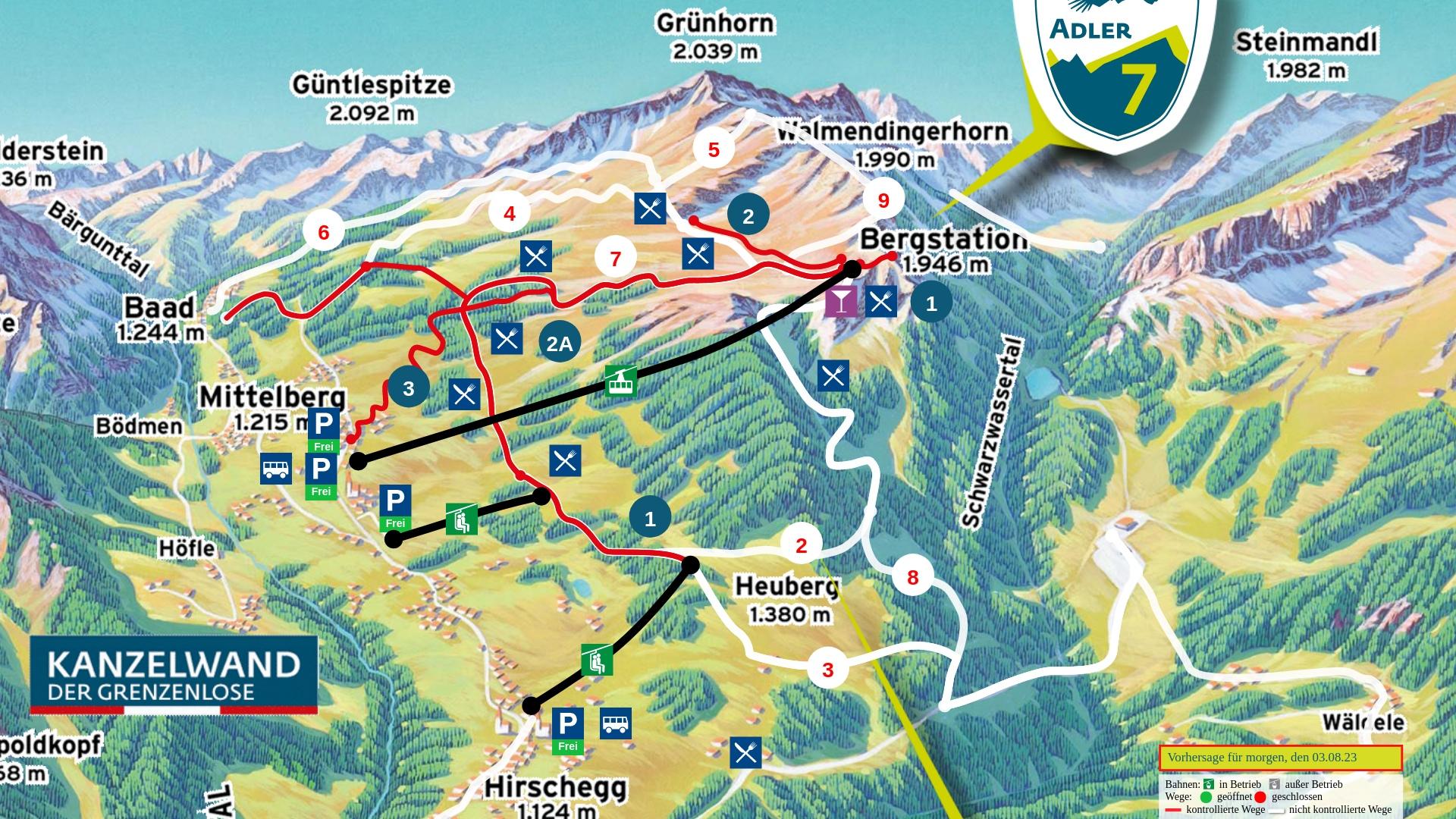 Wanderpanorama: Heuberg